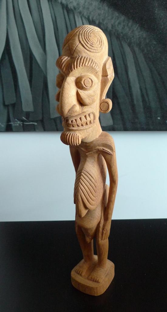 Скульптура, тотем из Чили