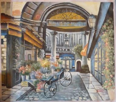 Картина «Улочка в Италии»