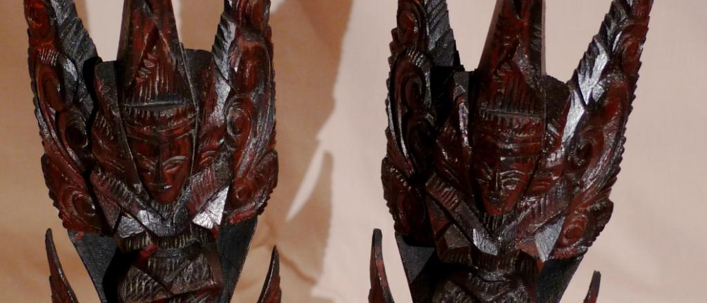 Этнические статуэтки с острова Бали