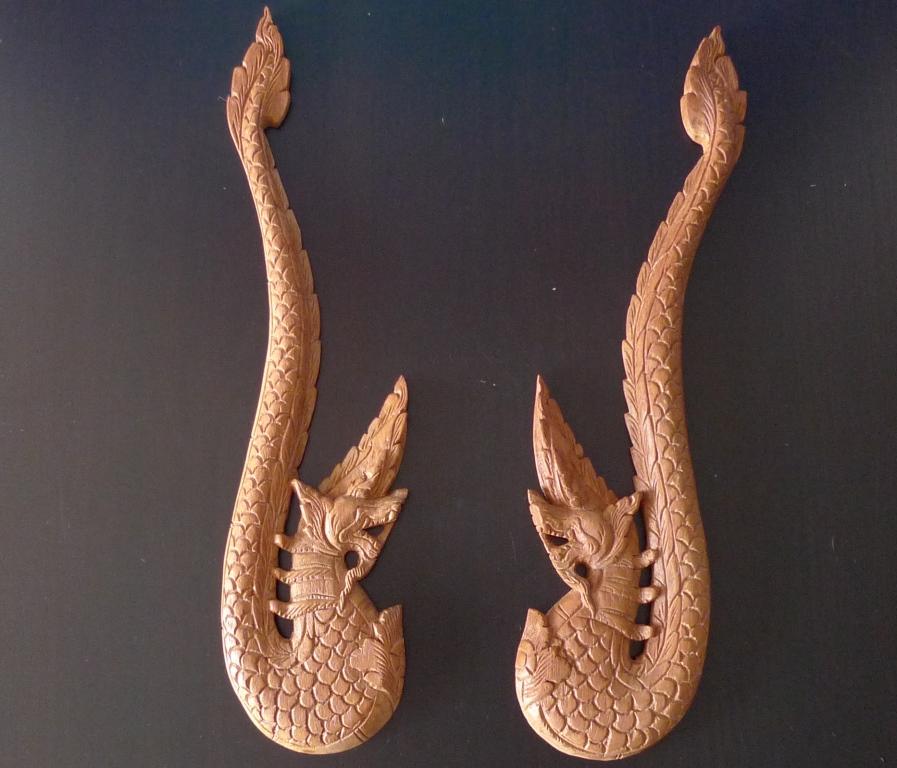 Панно, два дракона