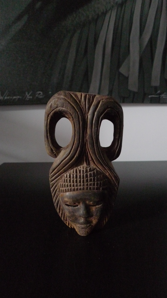 Винтажная декоративная маска