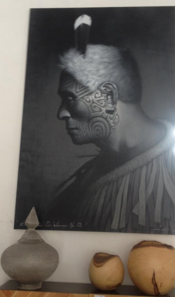 Абстракция «Индеец Майя»