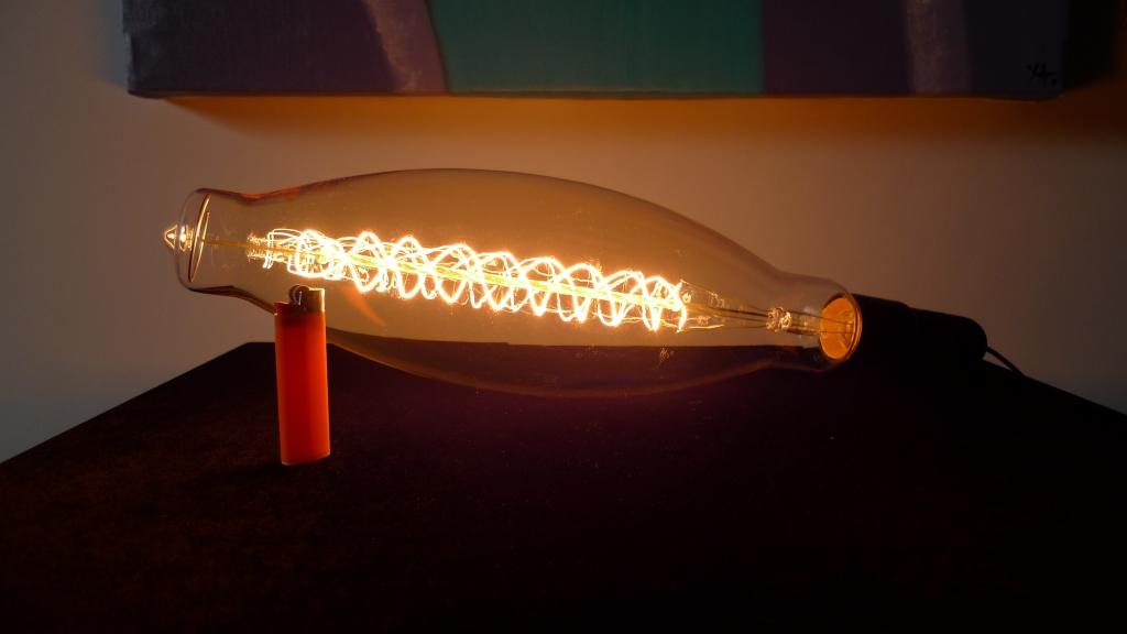Ретро лампа Эдисона, XXL, спираль, стиль 3.5K