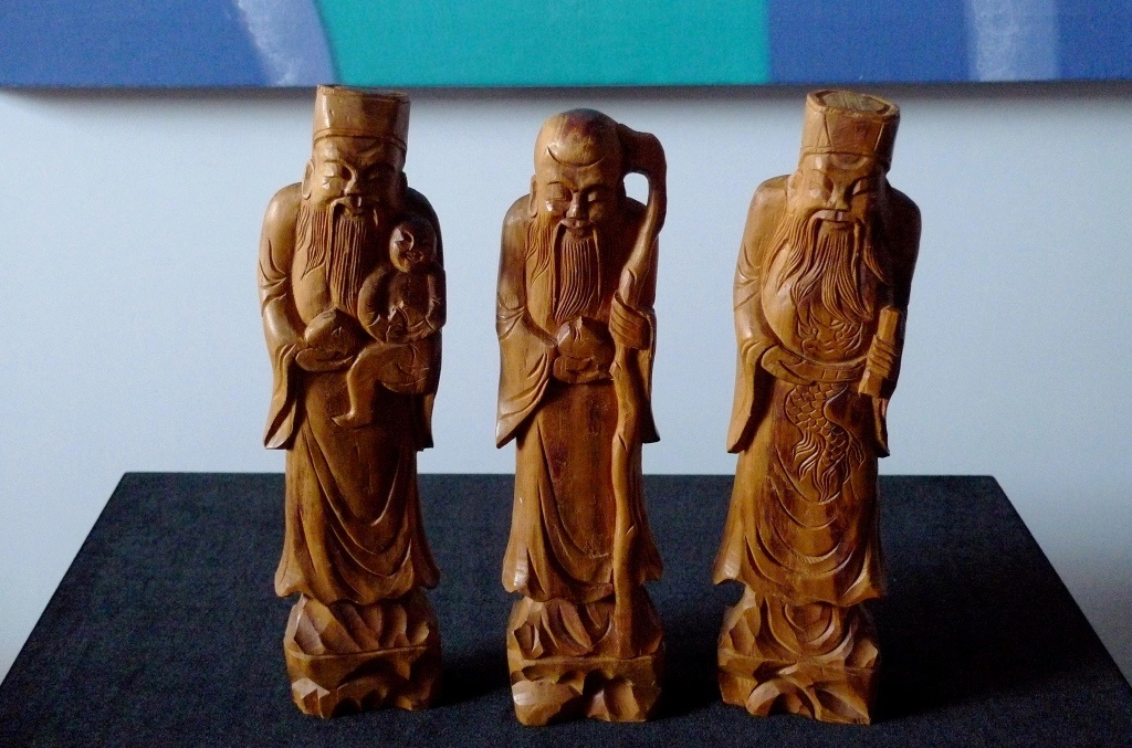 Статуэтки, три мудреца