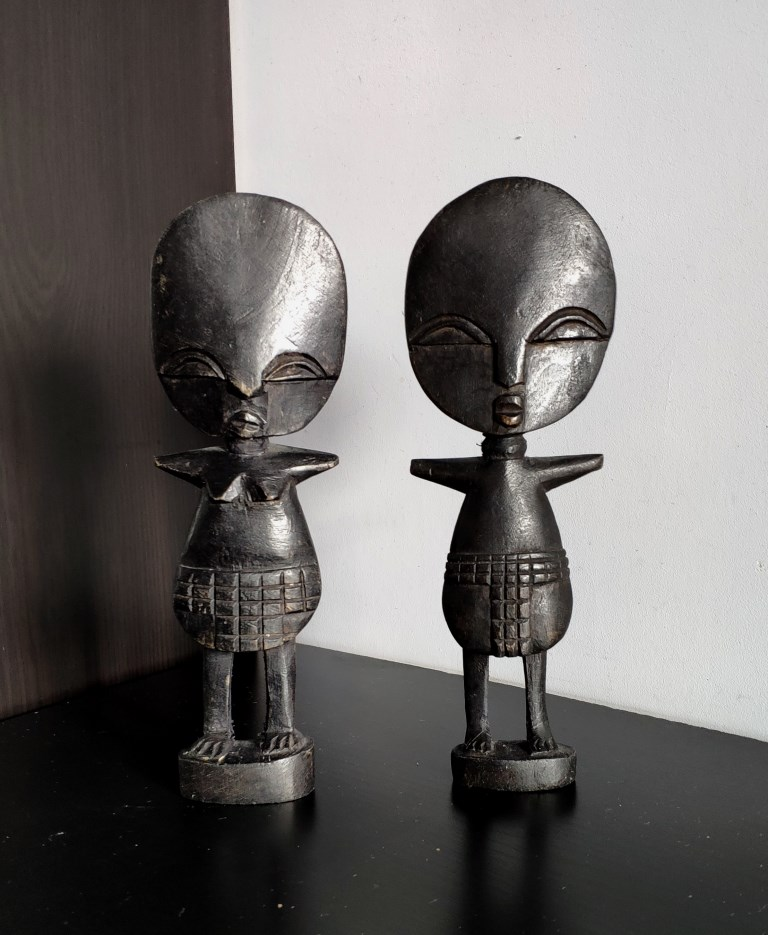 Скульптуры, куклы Ашанти