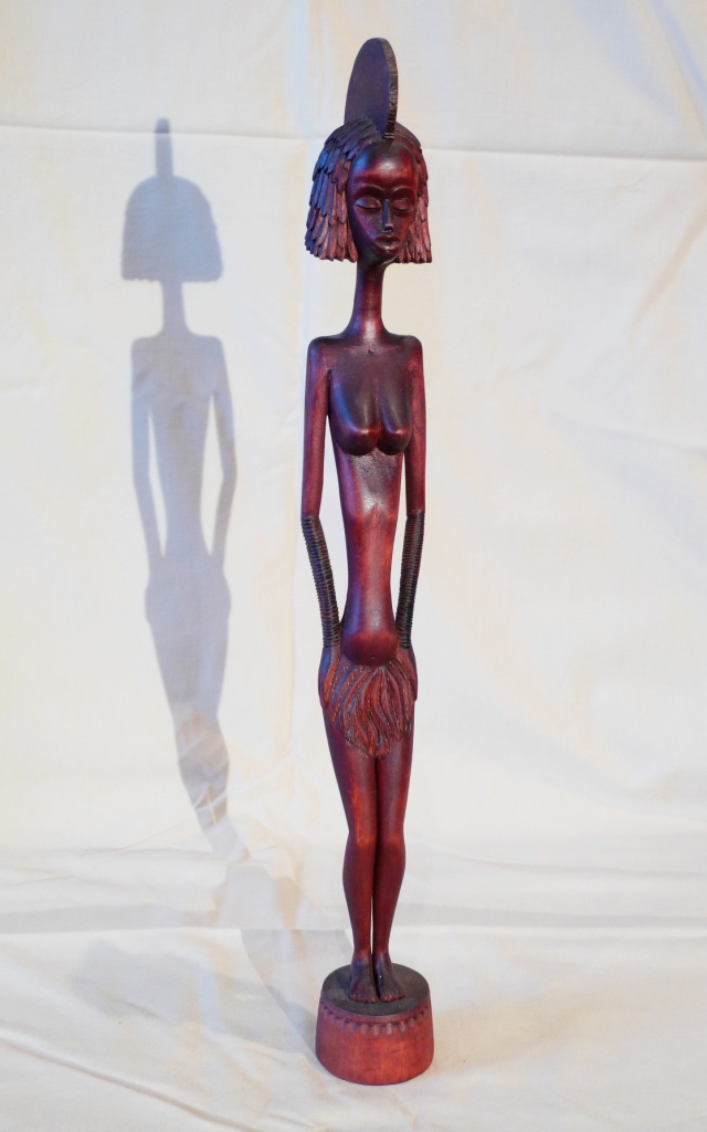 Винтажная авторская статуэтка