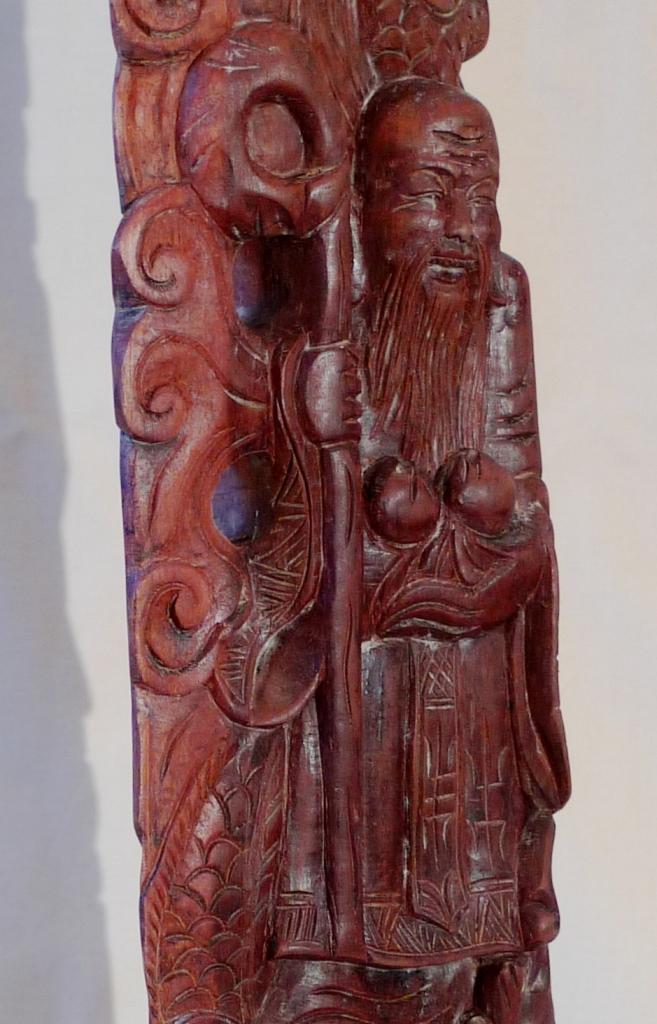 Скульптура, антиквариат, красное дерево, Китай