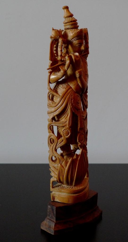 Статуэтка Кришна, сандал 70е