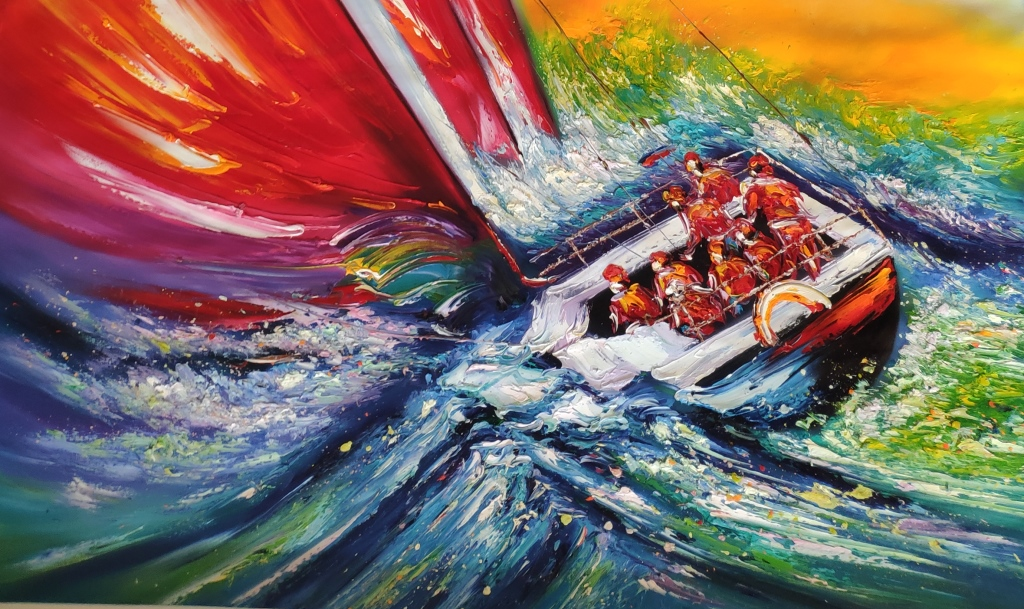 Картина Андаманское море