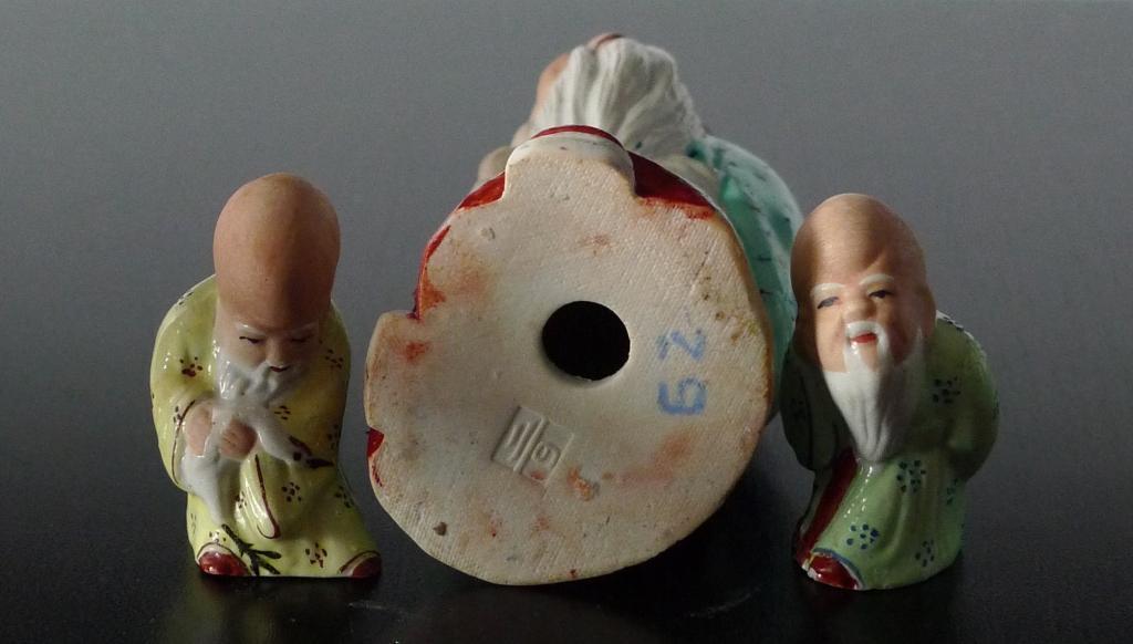 Фигурки мудрецов, фарфор, Китай