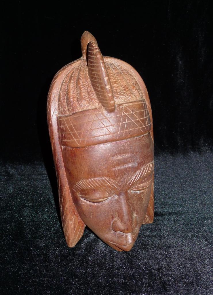 Винтажная, Африканская маска