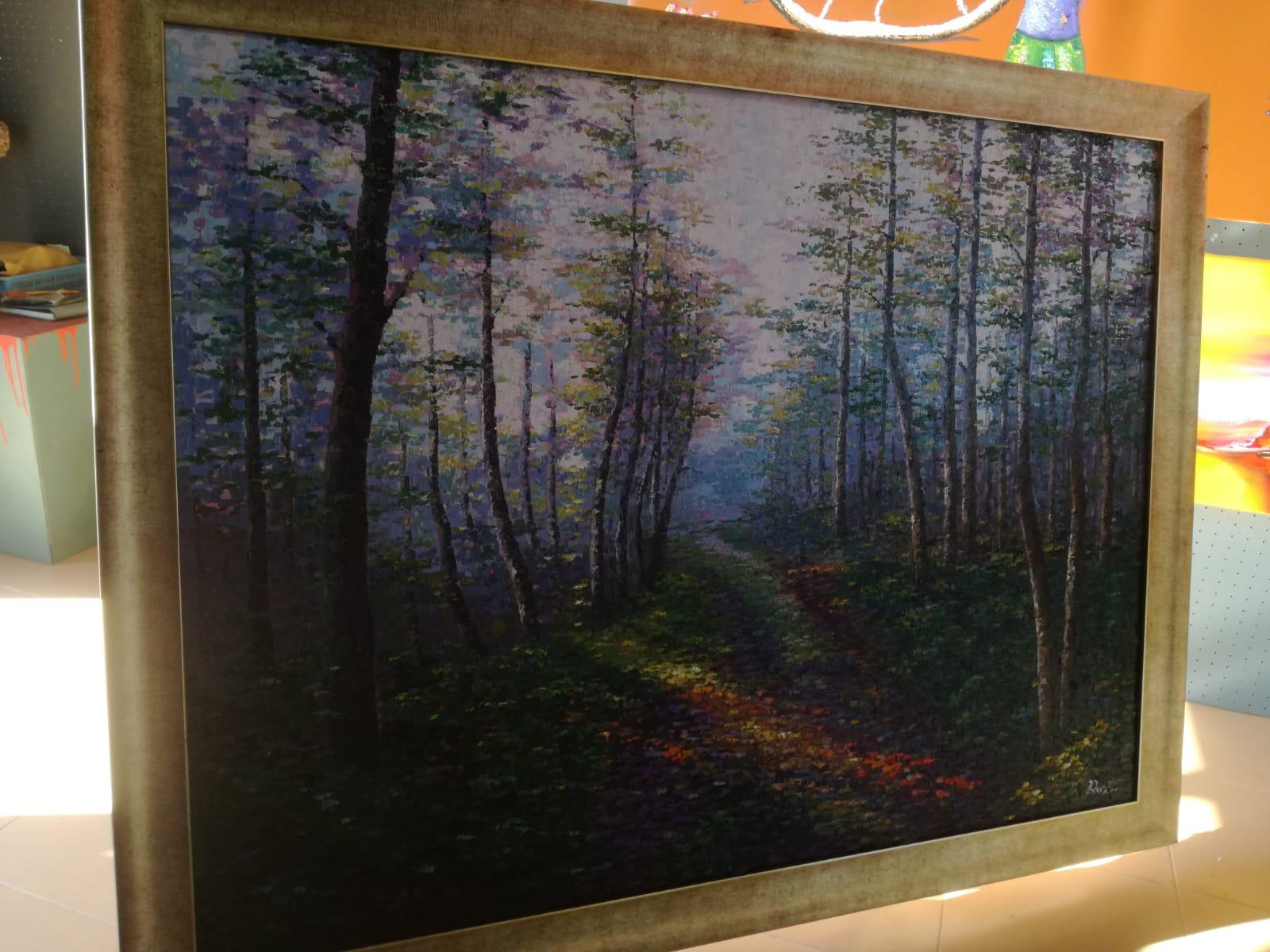 Картина: Таинственный лес