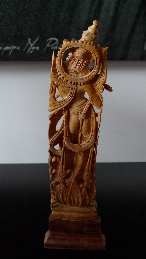 Статуэтка, Кришна, сандал