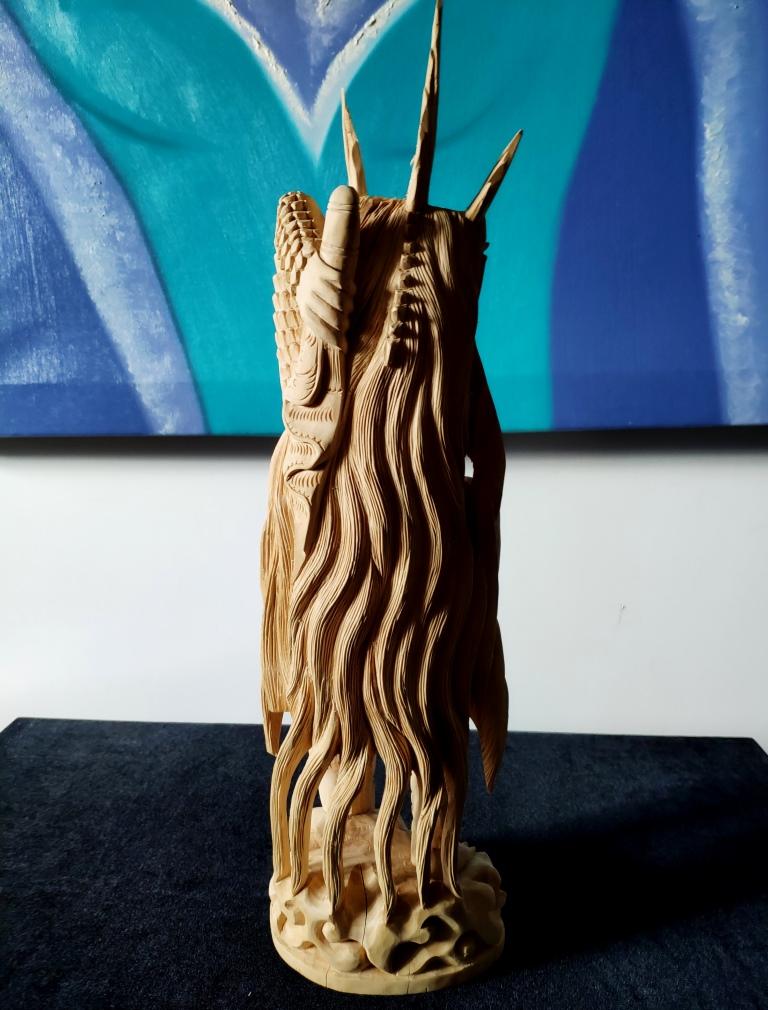 Скульптура Богиня Рангда