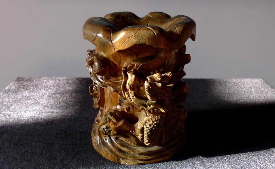 Ваза, Цветок Дракона, Китай