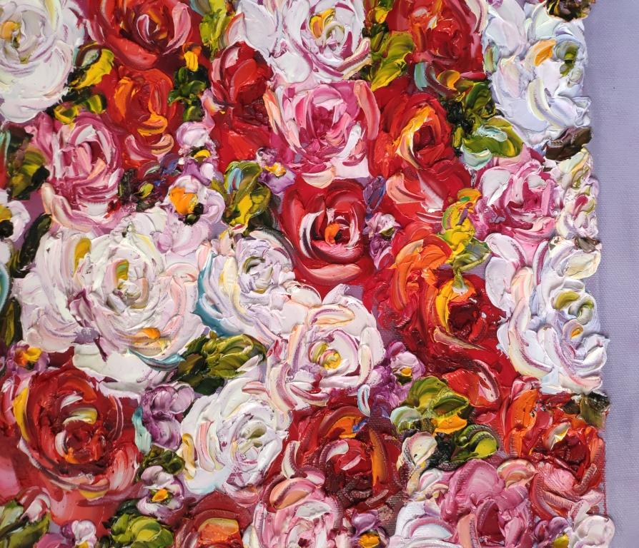 Словно живая картина, Цветы