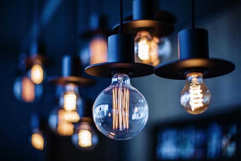 Ретро лампа Эдисона, нить, стиль G125