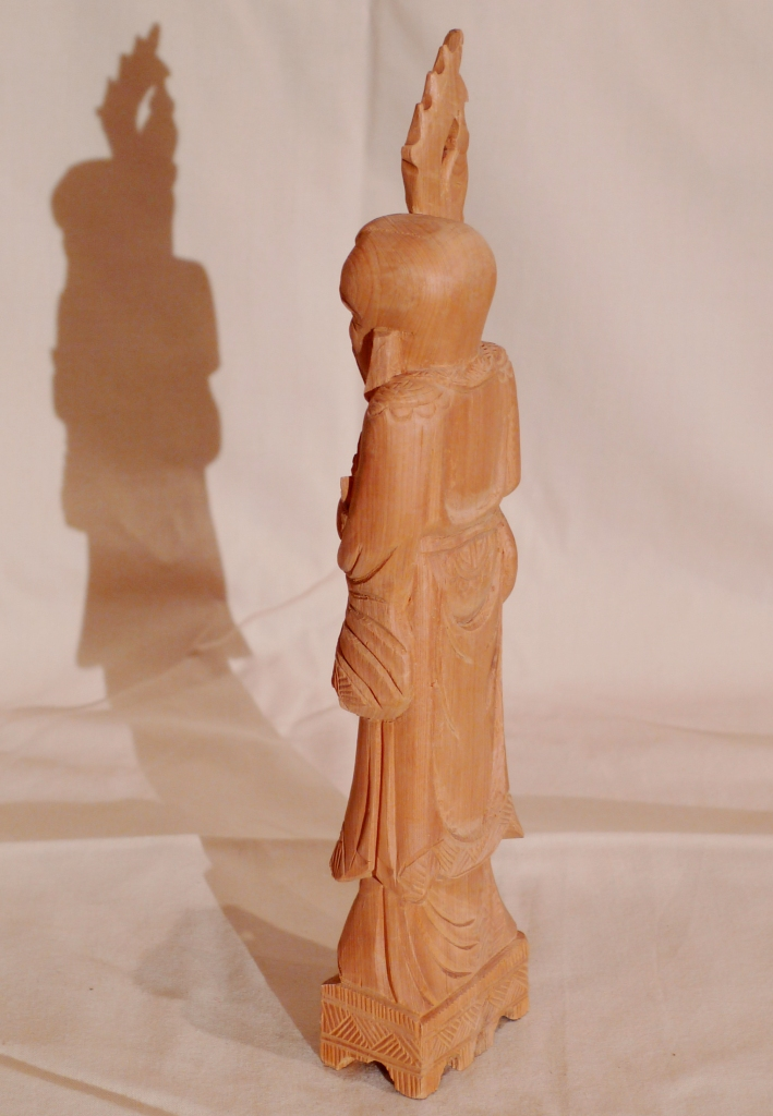 Статуэтка, китайского мудреца, сандал