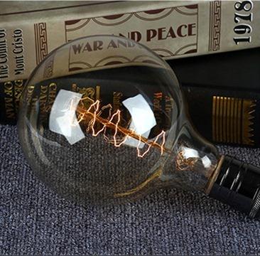 Ретро лампа Эдисона, спираль, стиль G125