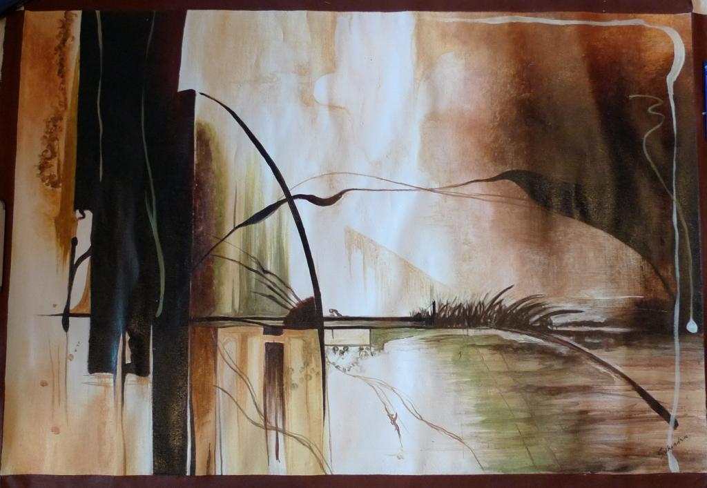 Картина «Абстракция острова Бали»