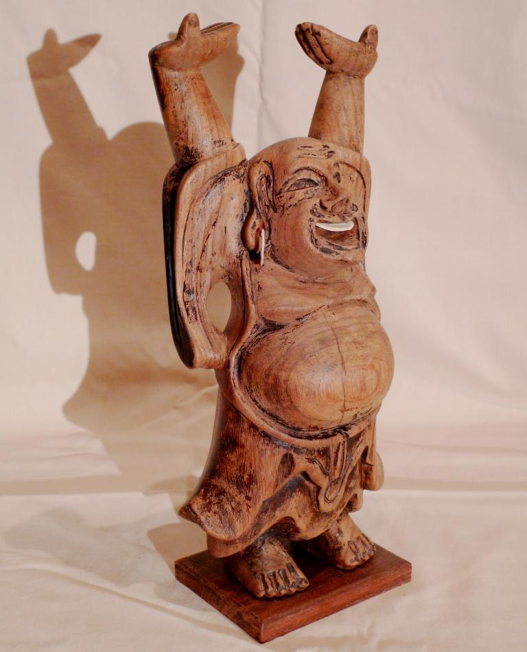 Скульптура, счастливый Будда