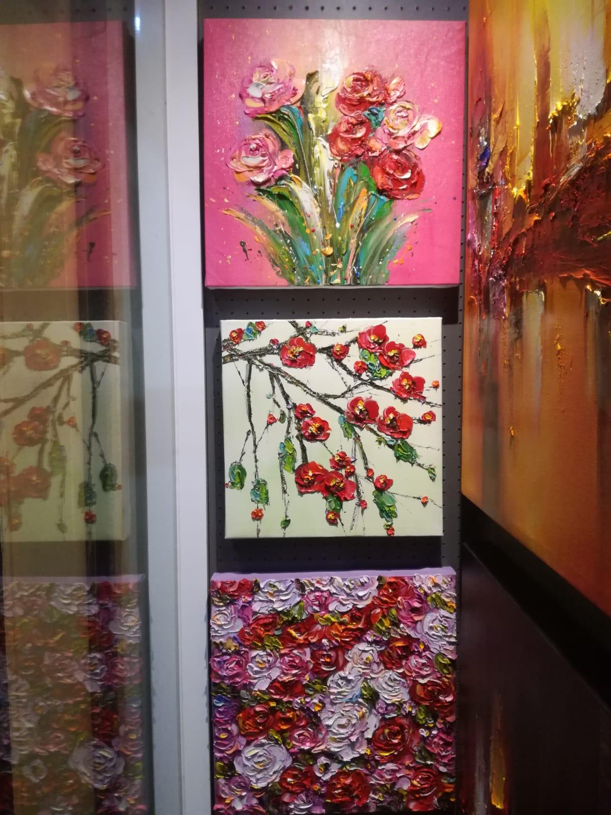 Картина Цветы Японский стиль