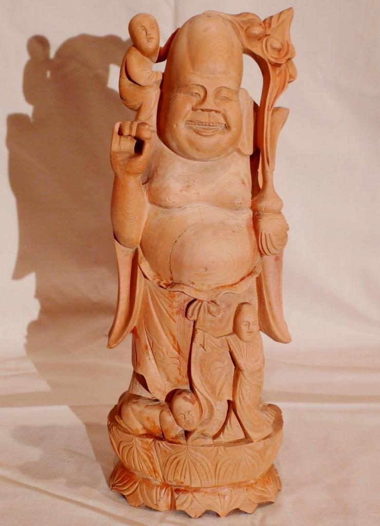 Скульптура, сандаловый Будда