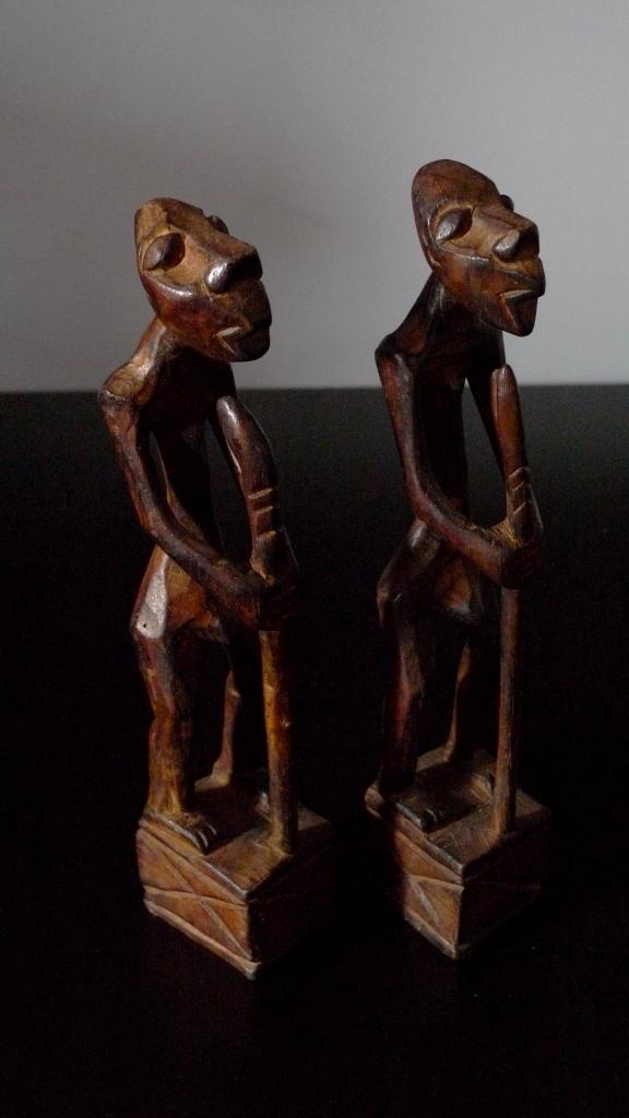 Витажные статуэтки из западной Африки