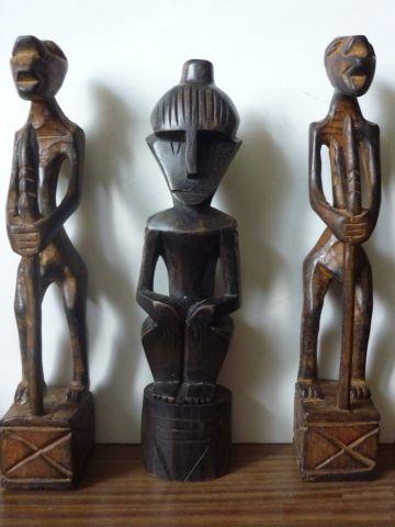Статуэтка из Черного дерева, Африка, Мали