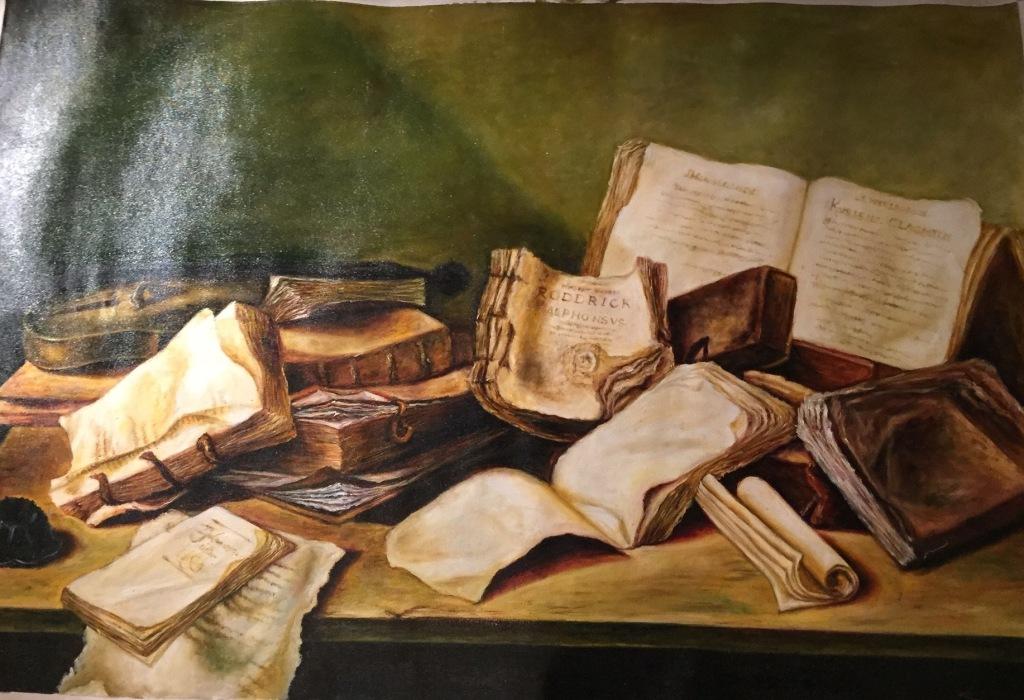 Абстракция «Познание воображения»