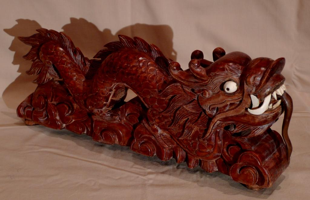 Антикварная скульптура, Дракон