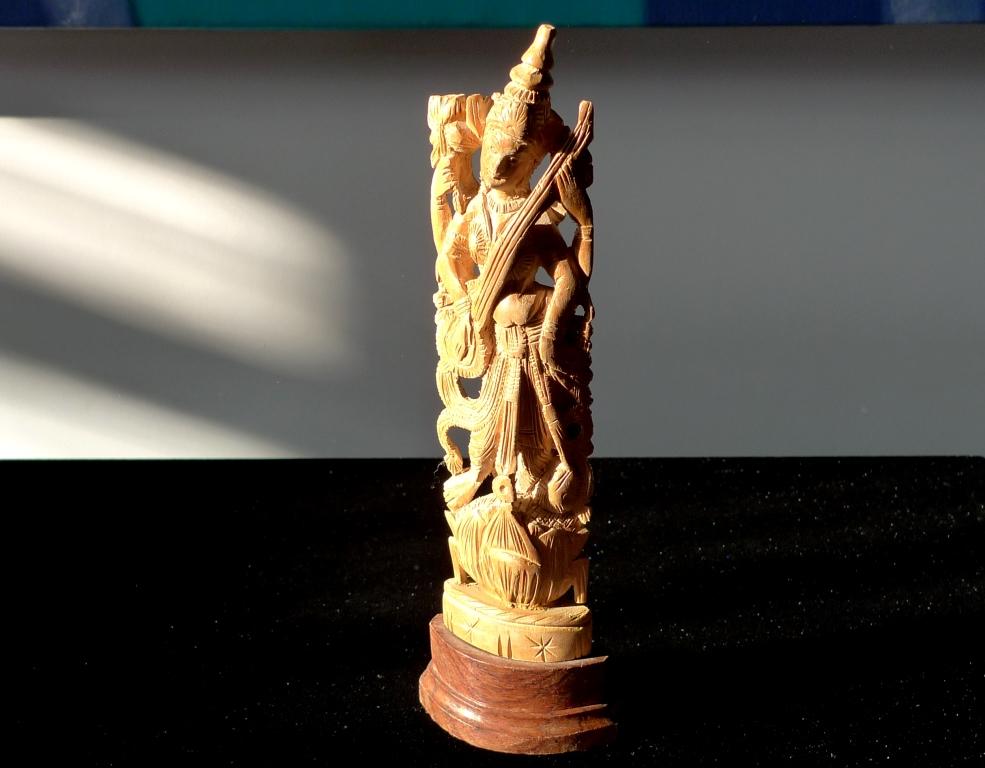 Статуэтка, антик, натуральный сандал