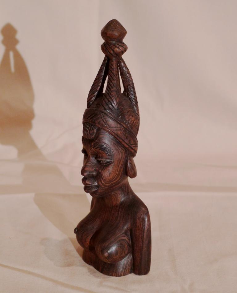 Бюст из Черного дерева, Африка, Мали