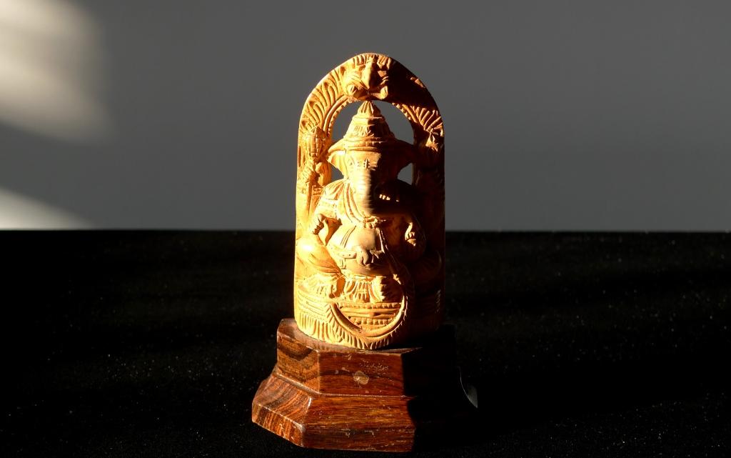 Скульптура, Ганеша, натуральный сандал