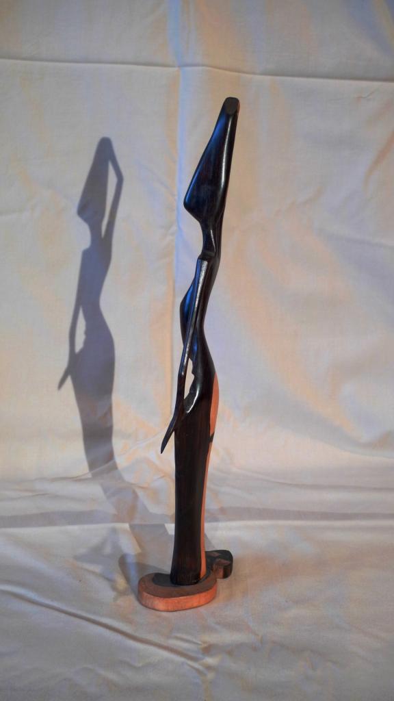 Статуэтка из черного дерева, Новая Гвинея
