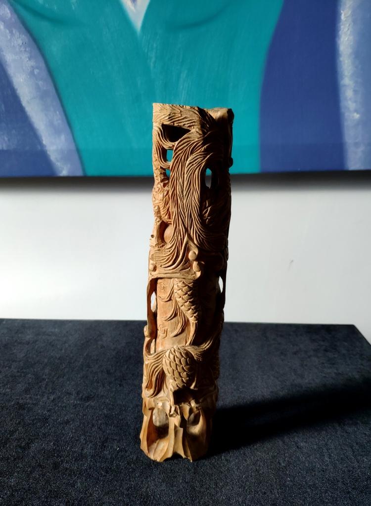 Статуэтка звездный старец, сандал, Вьетнам