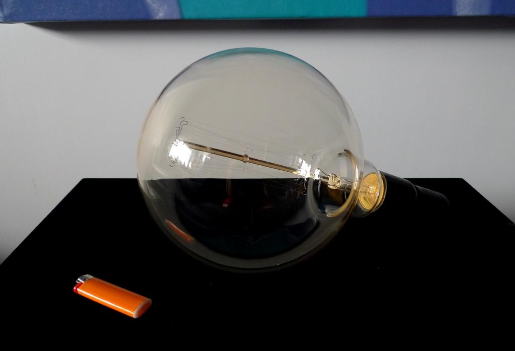 Ретро лампа Эдисона, XXL, нить, стиль G200