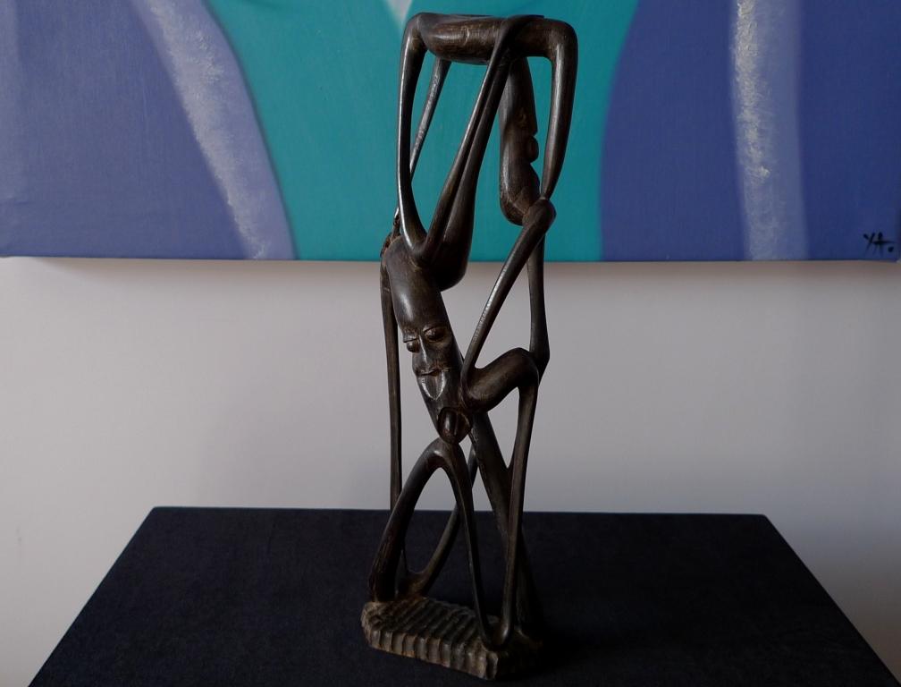 Скульптура, Африка, черное дерево