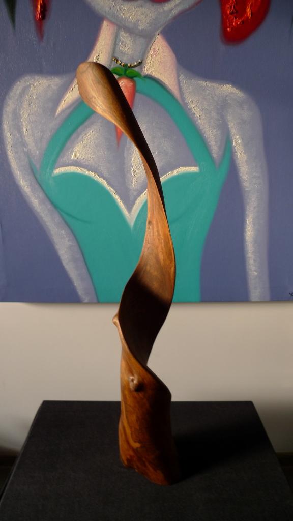 Авторская скульптура, натуральное дерево